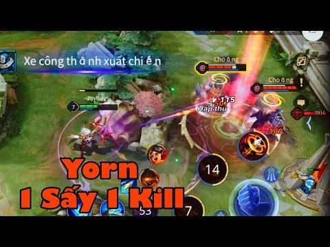 Liên Quân Mobile : Yorn Nguyệt Tộc Quá Khỏe Trong Meta Mùa 16