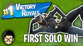 KID GETS FIRST SOLO WIN IN FORTNITE *EMOTIONAL*