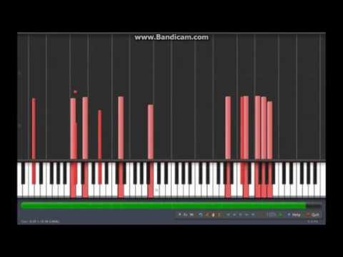 Corpse Party - Music Room (Synthesia Tutorial + midi)