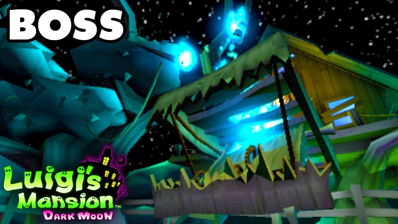 luigi s mansion dark moon haunted towers tree topping boss fight