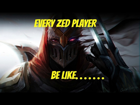FAKER? OR FEKER? - Zed players be like.. (PENTA KILL COMEBACK by: No Ganks Till 6)