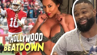 Tyron Woodley Says To Leave Jimmy Garoppolo Alone! | The Hollywood Beatdown