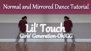 [Mirrored Tutorial] Lil' Touch (몰랐니) - Girls' Generation-Oh!GG (소녀시대-Oh!GG) Key point Dance
