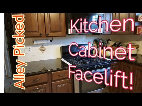 Kitchen Cabinet Door Restore!