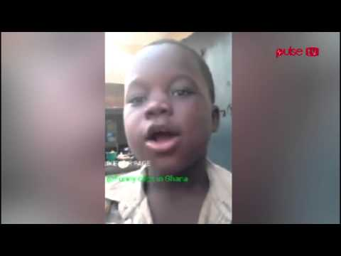John Mahama must give this boy free Scholarship