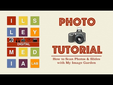 How to Scan Photos & Slides with My Image Garden (Canon 9000F Mark II Scanner)