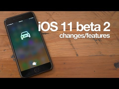 Thumbnail: 25+ new iOS 11 beta 2 features / changes!