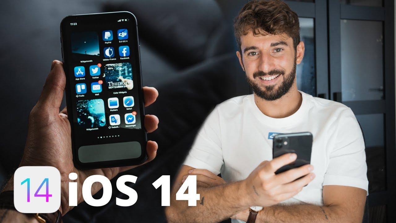 iOS14 : Comment STYLISER et PERSONNALISER l'écran d'accueil iPHONE ? (Widgetsmith) #ios14