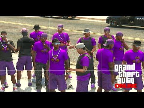 O Block Gang Sign GTA 5 ONLINE TDB Gang ...