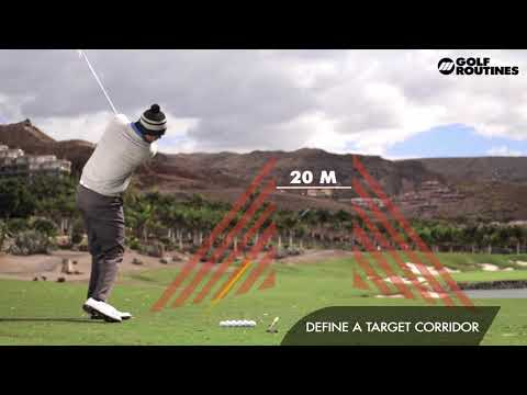 Golf Routines 008 – Long Irons VS Hybrid – Fairway Shots