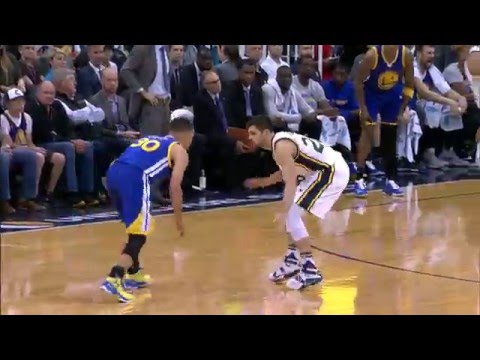 Stephen Curry Drops 31 on the Jazz