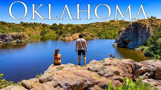 Camping in Oklahoma | Wichita Mountains Wildlife Refuge | Exploring Red Rock Canyon Adventure Park