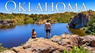 Camping in Oklahoma | Wicнita Mountains Wildlife Refuge | Exploring Red Rock Canyon Adventure Park