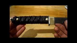 How to Make a Knife Handle with Duct Tape