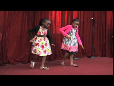 Ajabu Girls Perform Afrika by  Rev.Cathy Kiuna at CITAC church, Boston