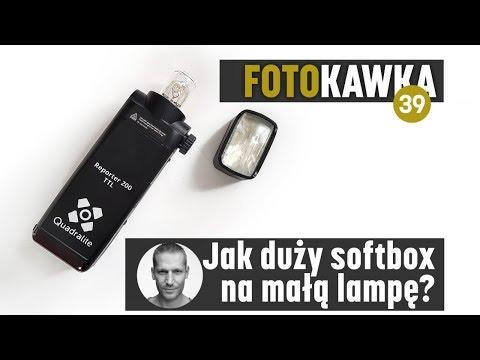 📷Foto kawka☕️#39: Jak duży softbox na małą lampę? Laptop na sesji zdjęciowej. I koniec z szufladą!