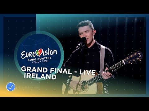 Ryan O'Shaughnessy - Together - Ireland - LIVE - Grand Final - Eurovision 2018