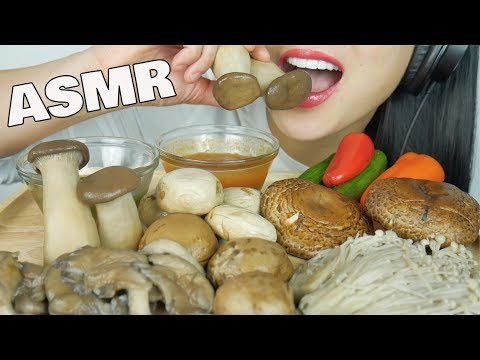 ASMR SATISFYING CRUNCH (MUSHROOMS EATING SOUNDS) NO TALKING | SAS-ASMR