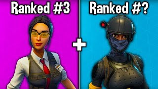 RANKING EVERY 'TIER 87' SKIN FROM WORST TO BEST! (Fortnite Battle Royale)