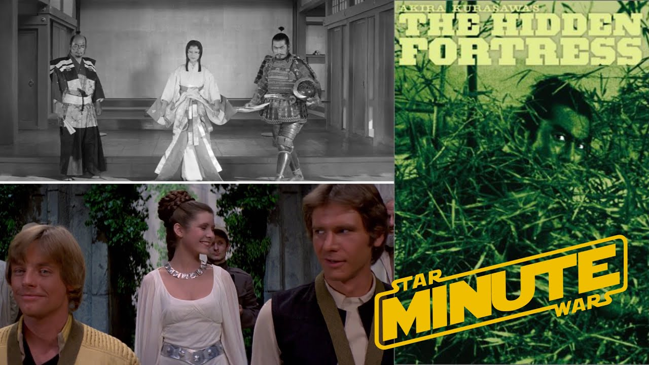 Camera Cachee Star Wars : The hidden fortresss influence on star wars star wars minute