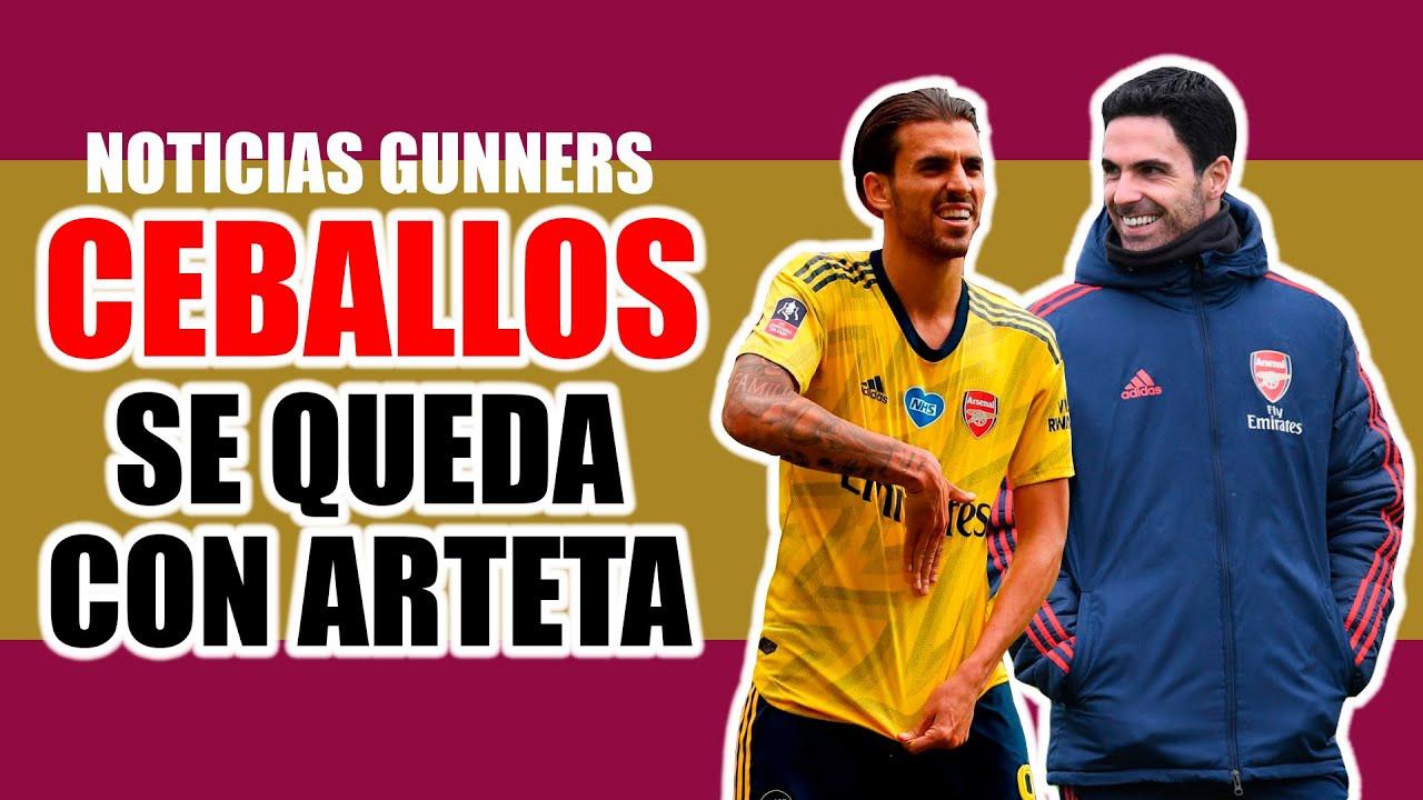Arteta convence a Ceballos / Arsenal apela por Nketiah / Saliba quiere jugar final en Francia