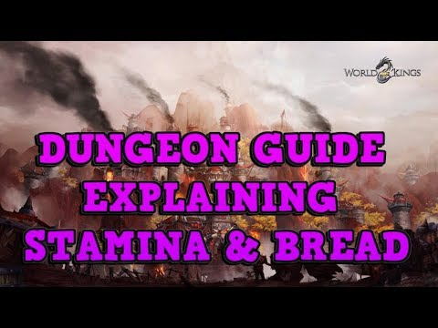 DUNGEON GUIDE - Explained - World of Kings
