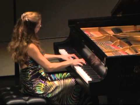 Svetlana Smolina performs Chopin Waltz in C sharp minor op 64 no .2