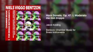 Horn Sonata, Op. 47: I. Moderato ma non troppo