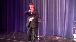 Tom Burgoon performs Springfield IL April 2017