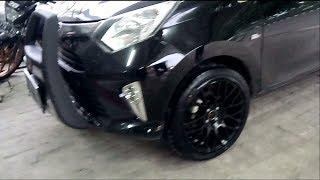 Modifikasi New Toyota Calya Using Hsr Naik 3 Tingkat Dari Standar