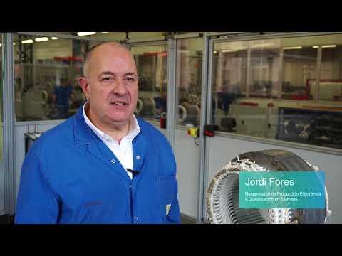 Siemens en un minuto: componentes ferroviarios producidos digitalmente en España.