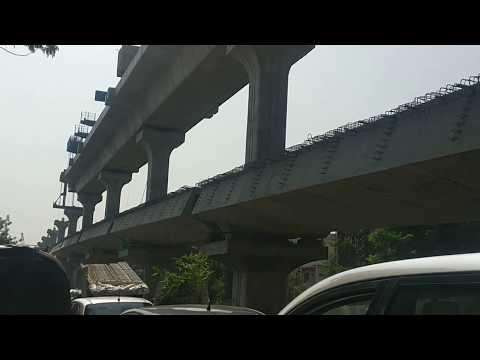 A Nagpur Metro Double Decker Bridge From Ajni