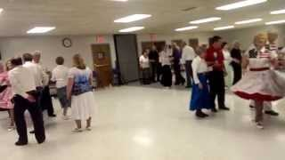 Square Dance in Kansas City  at KC Plus club with Tom Roper caller