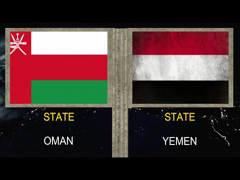 Oman vs Yemen - Army Military Power Comparison 2020