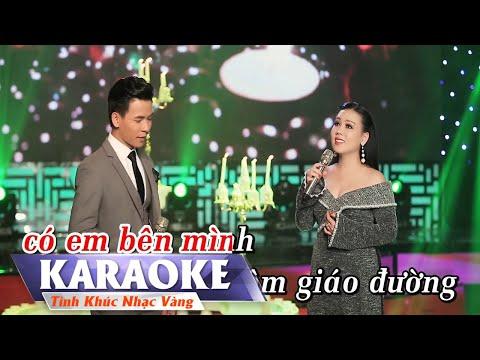 KARAOKE - Nguyện Cầu trong Đêm   Beat Song Ca Lưu Ánh Loan & Huỳnh Thật