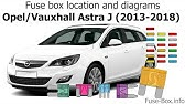 fuse box location and diagrams: opel / vauxhall astra k (2016-2019…) -  youtube  youtube