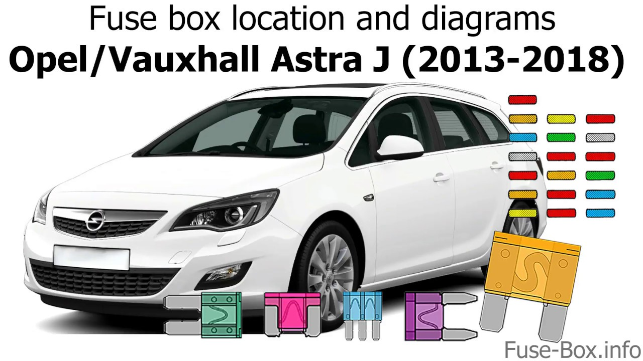 Fuse box location and    diagrams     Opel  Vauxhall    Astra       J     20132018   YouTube