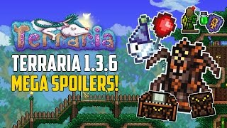 Terraria 1.3.6 SPOILERS! ACCESSORIES & DYES ON MANNEQUINS! SPIDER FURNITURE!  | PC NEWS