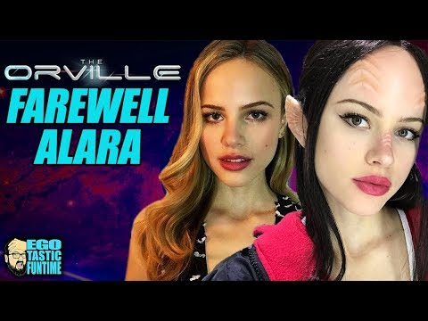 The Orville Farewell To Alara Kitan Tribute  Goodbye Halston Sage  TALKING THE ORVILLE