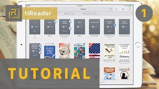 tiReader Tutorial: How To Get Started - 1.Organize Your Library