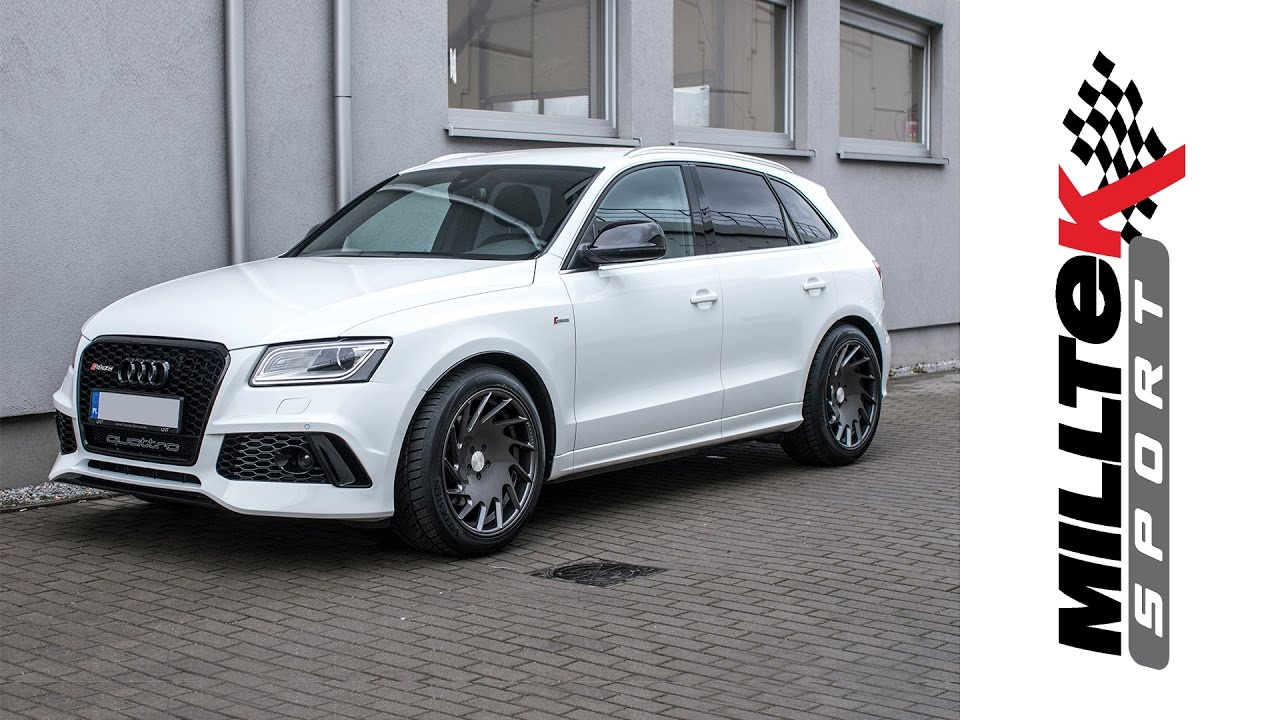 Audi Rs Q5 >> Audi RSQ5 by UNT 3.0 TSFI w/ Milltek Sport Cat-back Non-resonated exhaust | UNT Tuning-Center ...