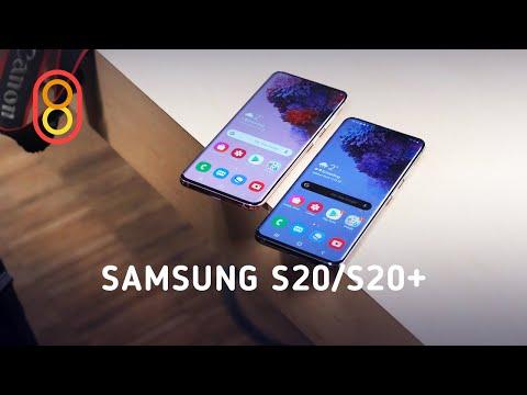 Первый обзор Samsung Galaxy S20 и S20+