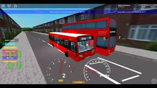 Roblox London & Harrow V2.1 BETA E200 CSG London General (LS RATP) on Route H10 undefined Part 1