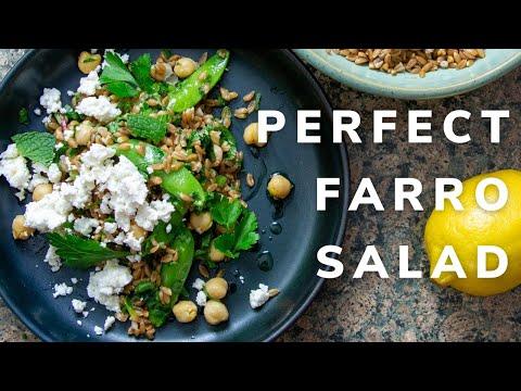 Farro Salad | How To Cook Farro & Make It Delicious