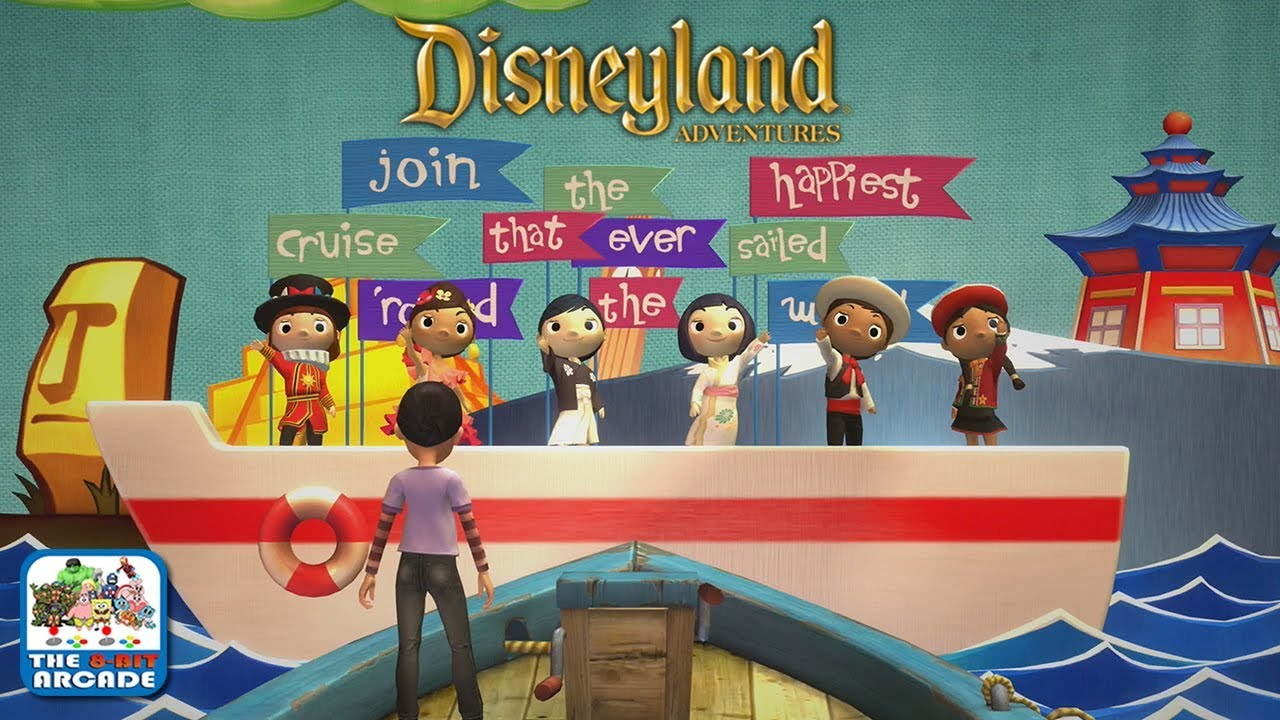 Disneyland Adventures It S A Small World The Happiest Cruise That Ever Sailed Xbox One Gameplay Youtube