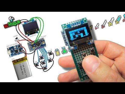 GcConsole - игровая консоль на Arduino + OLED