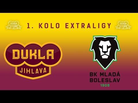 1. kolo (8.9.2017) HC Dukla Jihlava - BK Mladá Boleslav