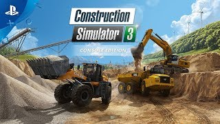 Construction Simulator 3 | Release Trailer | PS4