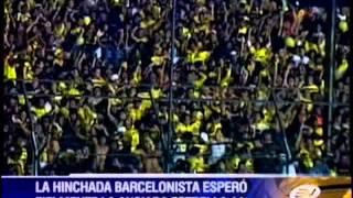 La hinchada barcelonista esperó fielmente la estrella 14 ... Ahora solo nos queda Barcelona