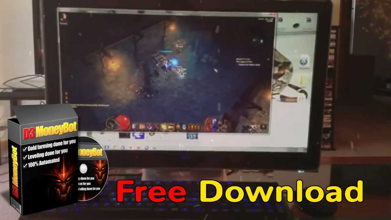 Diablo 3 Bot - 100kk Gold/hour - Diablo 3 Farm bot - Diablo3 level bot